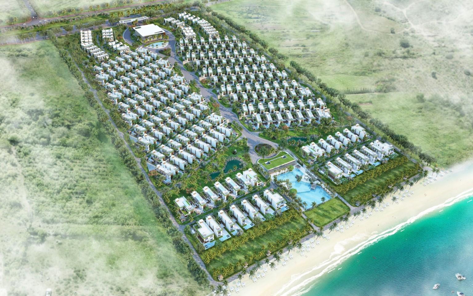 Tổng quan quy hoạch dự án biệt thự biển Camranh Mystery Villas