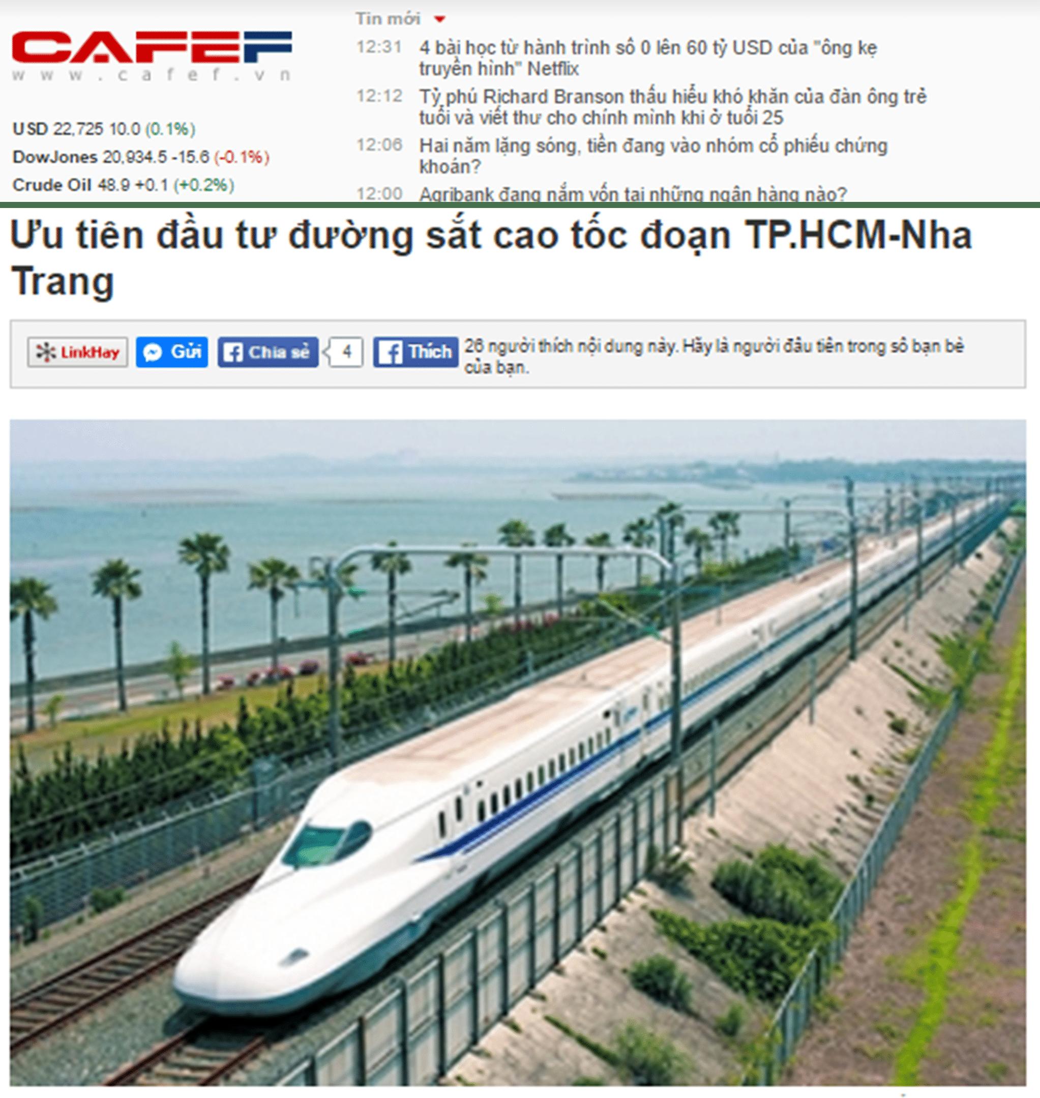 Sẽ có tuyến đường cao tốc kết nối từ Nha Trang đến Sài Gòn trong tương lai