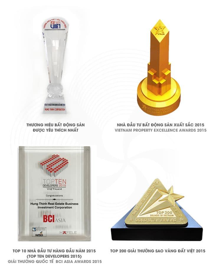 Các giải thưởng Hưng Thịnh Corp