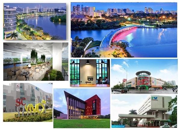 tiện ích ngoại khu Q7 Saigon Riverside quận 7