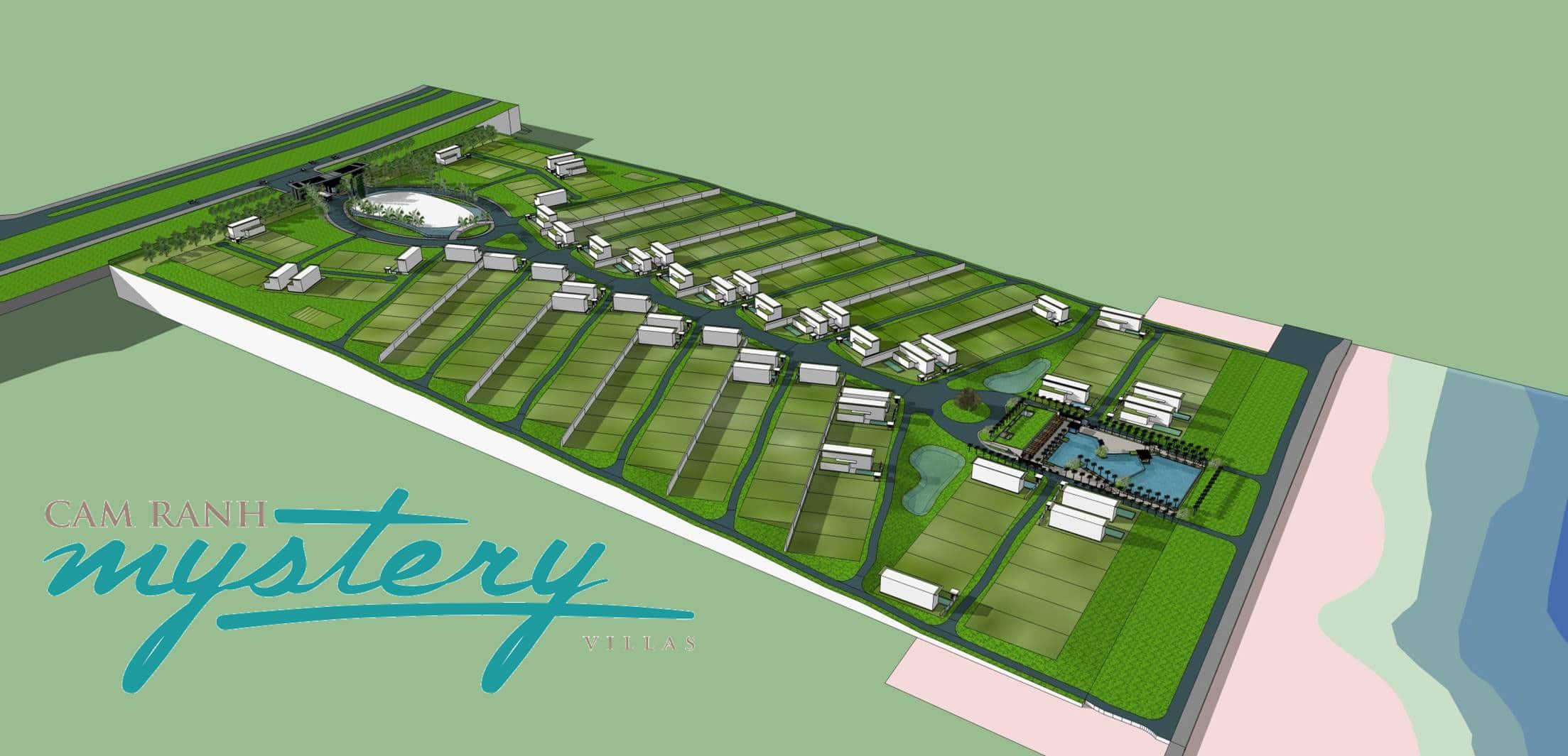 Thiết kế bật thang tại Cam Ranh Mystery Villas