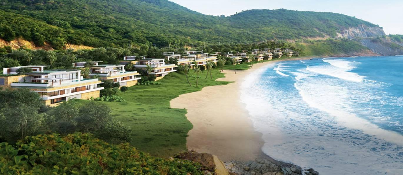 Dự án MIA RESORT, vị trí: Bãi Dông, Xã Cam Hải Đông, Huyện Cam Lâm, Tỉnh Khánh Hòa, Giá bán khởi điểm năm 2015 từ 35 tỷ/căn
