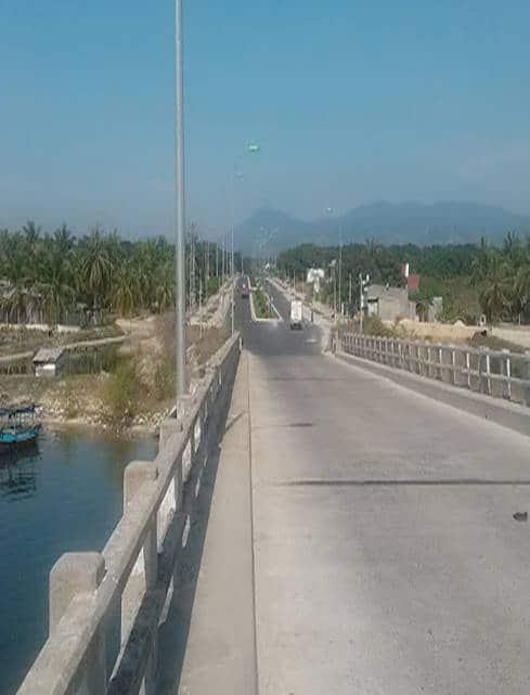 Tuyến đường qua Cầu Mới kết nối Mystery Villas với quốc lộ 1A