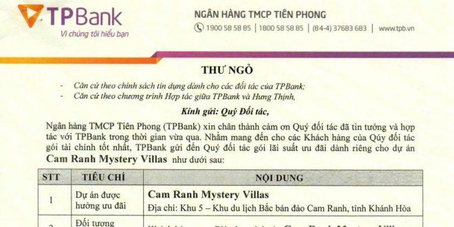 chinh sach vay cam ranh mystery