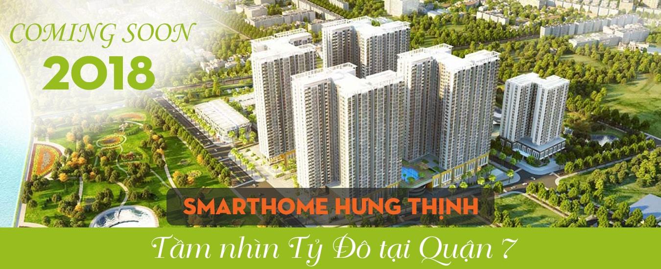 Căn hộ mặt tiền Đào Trí, quận 7 Hưng Thịnh