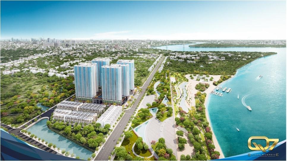căn hộ Q7 Saigon Riverside quận 7