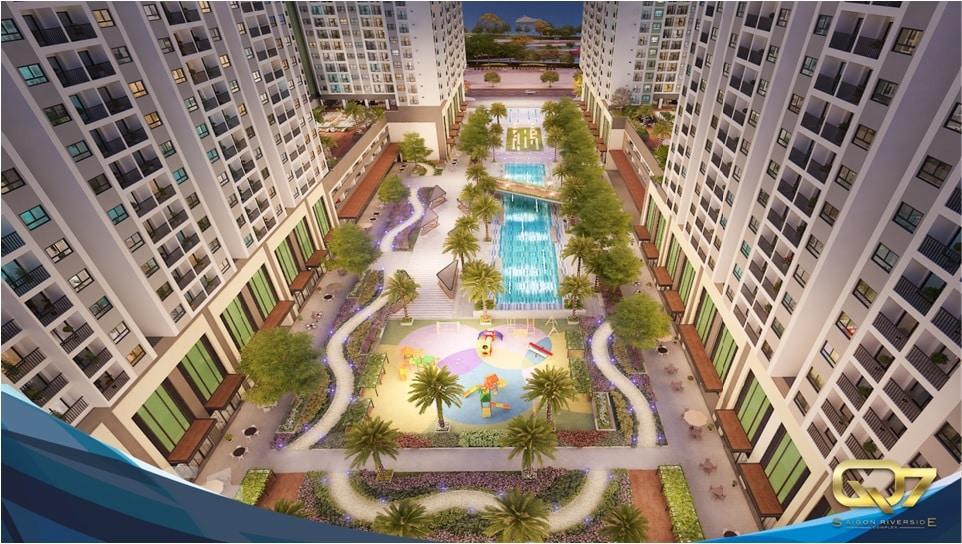 tiện ích nội khu Q7 Saigon Riverside quận 7