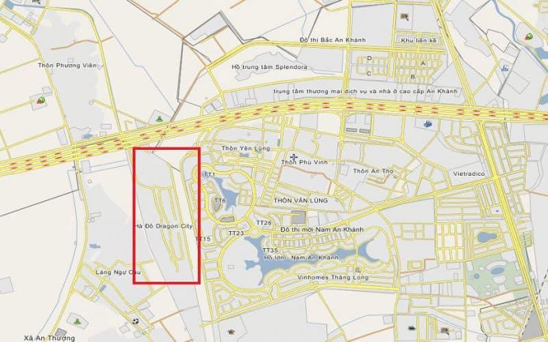 Vị trí đắc địa của Biệt thự Hà Đô Charm Villas