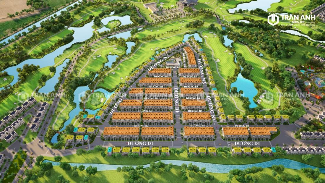 Dự án sân golf Đức Hòa ở đâu