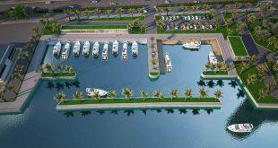 Du thuyền dự án Hải Giang Merry Land