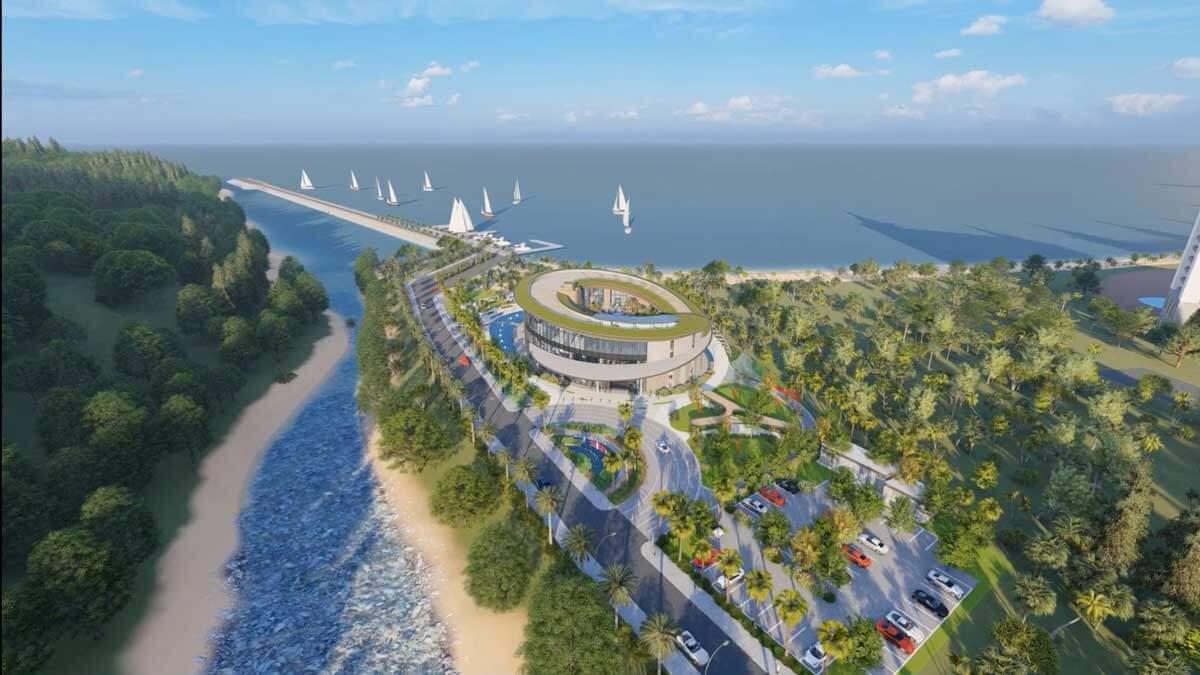 Sân golf dự án Hải Giang Merry Land
