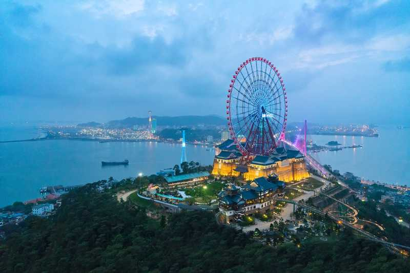 Vòng quay mặt trời trong dự án Hải Giang Merry Land