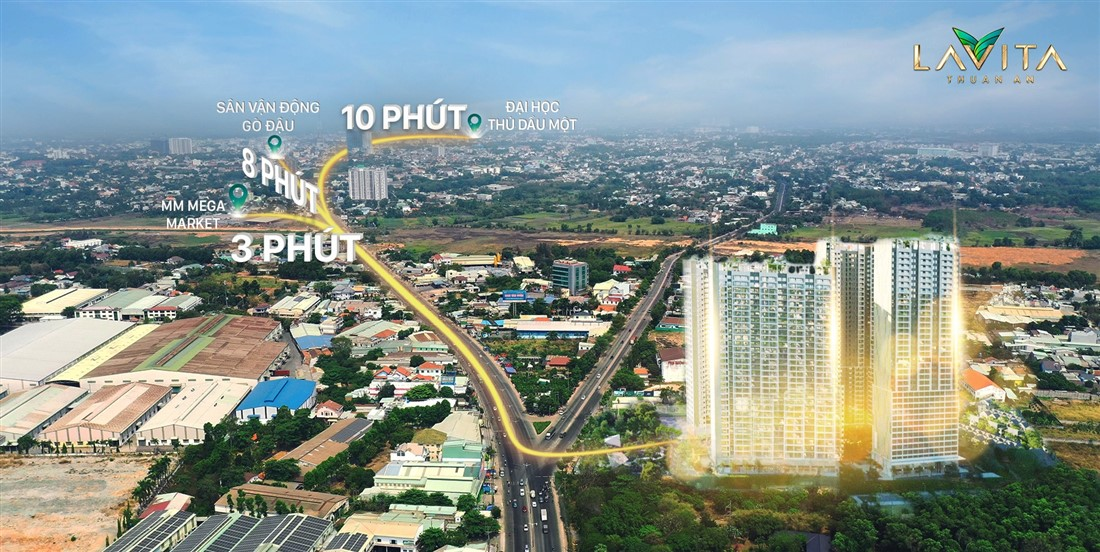 Phối cảnh Lavita Thuận An