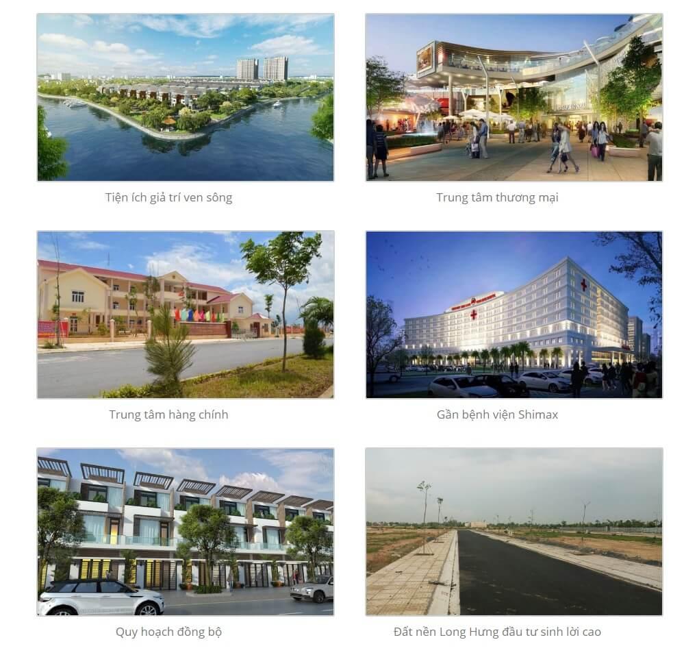 Các tiện ích dự án Long Hưng City