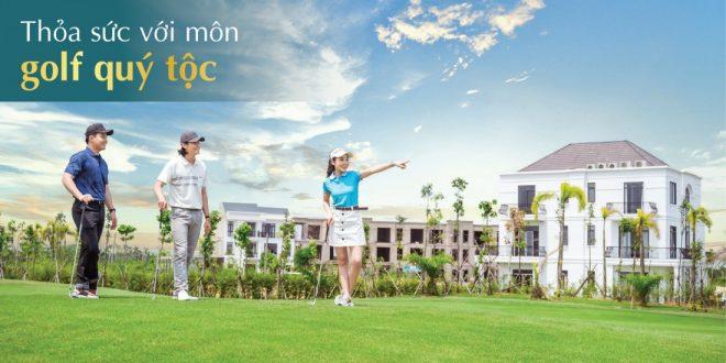Thỏa sức với môn Golf quý tốc