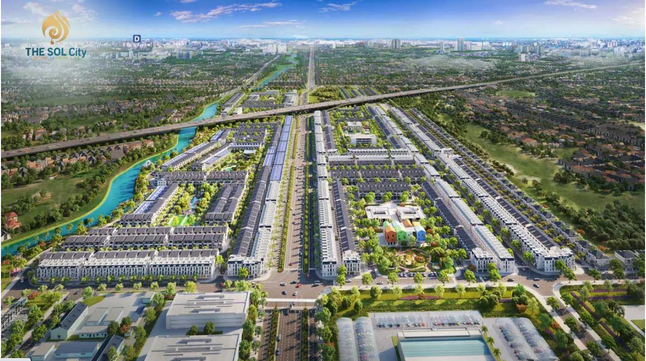 Tổng thể dự án The Sol City
